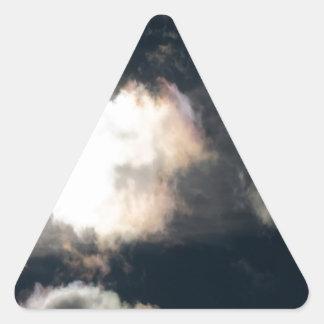 Storm Warm Breakthrough Triangle Sticker
