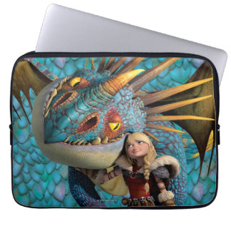 Stormfly And Astrid Laptop Computer Sleeves