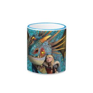 Stormfly And Astrid Ringer Mug