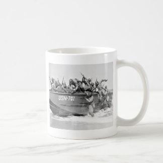 Storming the Beach, 1940s Mugs