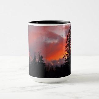 Stormy Bliss sunset 15 ounce mug