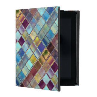 Stormy Breeze Custom Tile Mosaic Art iPad Case