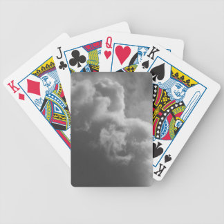 Stormy Clouds Bicycle Playing Cards