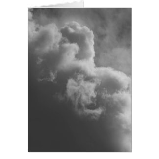 Stormy Clouds Card