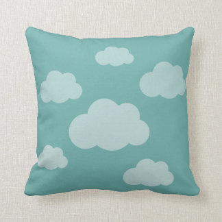 Stormy clouds cushion