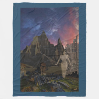 Stormy Dreams Fleece Blanket