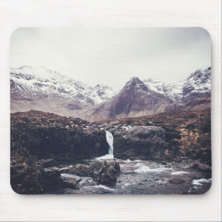 Stormy Fairy Pools | Mouse Pad