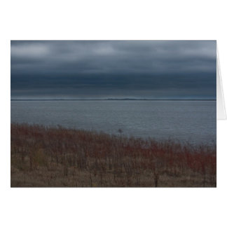Stormy Lake notecard