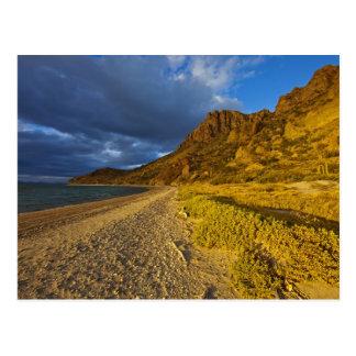 Stormy light on Isla Carmen in the Gulf of Postcard