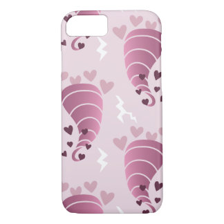 Stormy Love Pink Tornado iPhone Case
