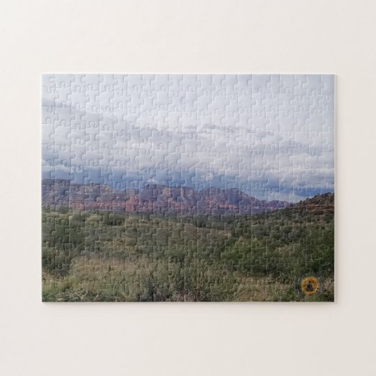 Stormy Mesa Jigsaw Puzzle