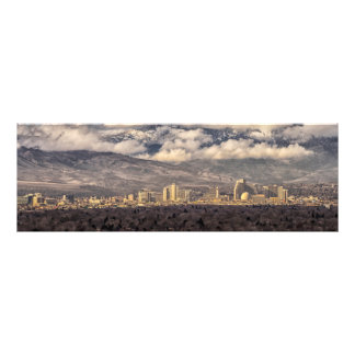Stormy Morning over Reno Photo Print