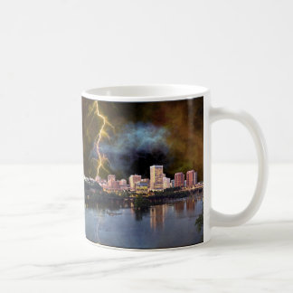 Stormy Richmond Skyline Coffee Mug