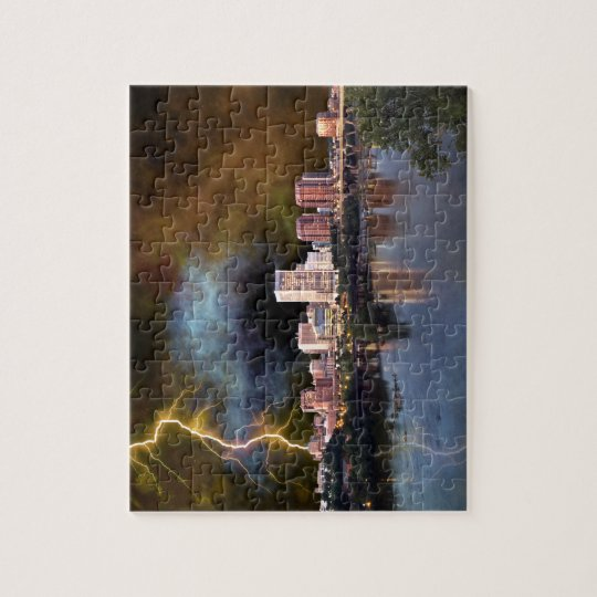 Stormy Richmond Skyline Jigsaw Puzzle