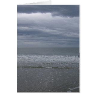 Stormy Seas Coming Card