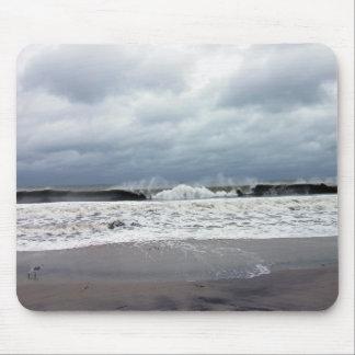 Stormy Seas of the Atlantic Ocean Mouse Pad