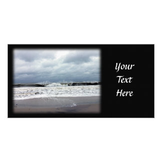 Stormy Seas of the Atlantic Ocean Photo Card