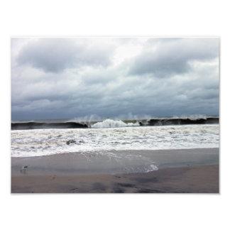 Stormy Seas of the Atlantic Ocean Photographic Print