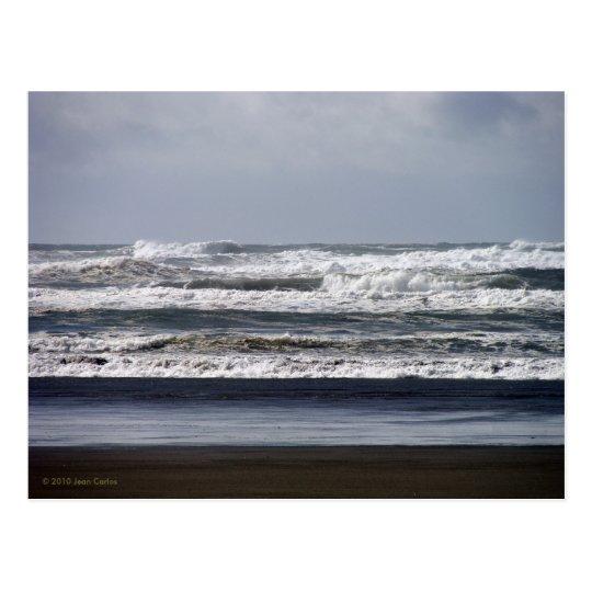 Stormy Seas Postcard