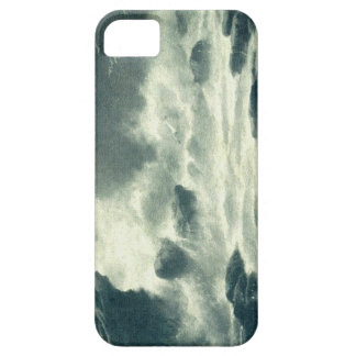 Stormy Shore Vintage Post Card iPhone  Cover