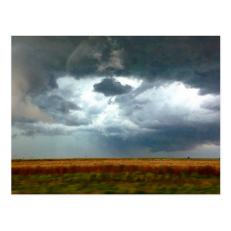 Stormy Skies, KS Postcard