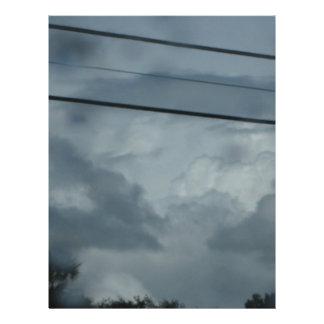 Stormy Sky Flyer Design