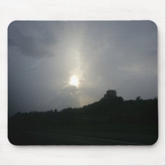 Stormy sunlight mouse pads
