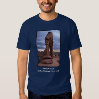 Stormy Sunset - Delicate Arch - Moab - Utah T-shirt