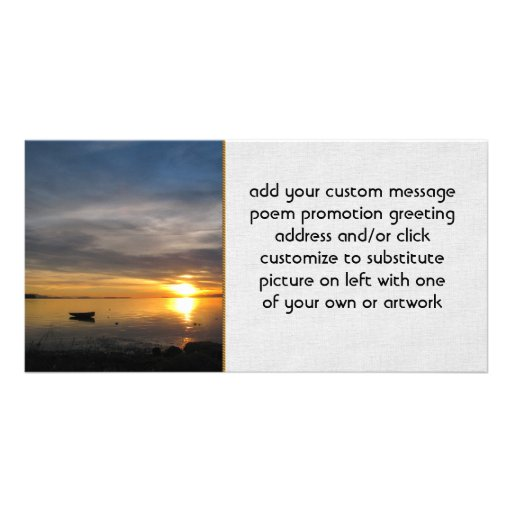 Stormy Sunset Photo Cards