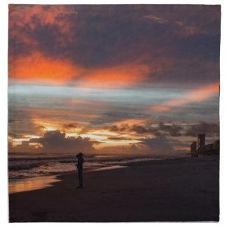 Stormy Sunset Printed Napkins