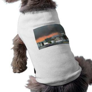 Stormy Sunset - Trafalgar Square Doggie Tshirt