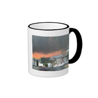 Stormy Sunset - Trafalgar Square Coffee Mugs