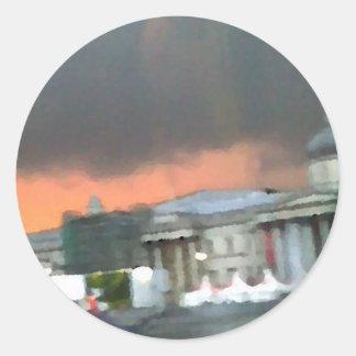 Stormy Sunset - Trafalgar Square Sticker