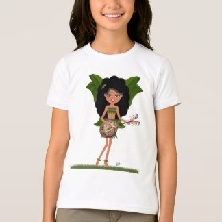 Stormy the Green Winged Faery  with a Guitar T-Shirt