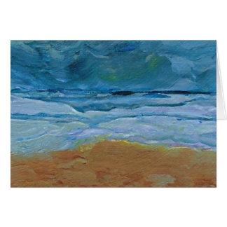 Stormy Waves  CricketDiane Ocean Art Greeting Card