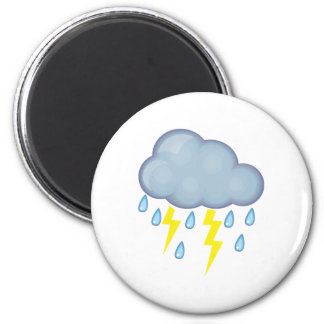 Stormy Weather Refrigerator Magnets