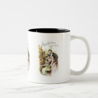 Story and Clark Organ Co 2 Coffee Mugs