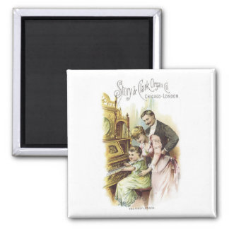 Story and Clark Organ Co 2 Refrigerator Magnet
