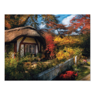 Story Book - Grannies Cottage 11 Cm X 14 Cm Invitation Card