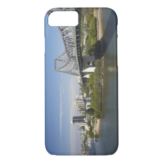 Story Bridge, Brisbane River, and Kangaroo iPhone 7 Case
