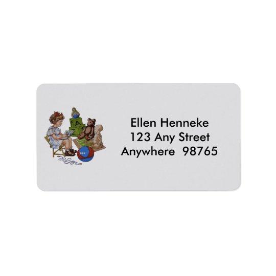 Story Time Address Label