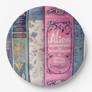 Storybook/Alice in Wonderland Paper Plate 9 Inch Paper Plate