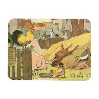 Storybook Farm Aminals Flexible Magnet