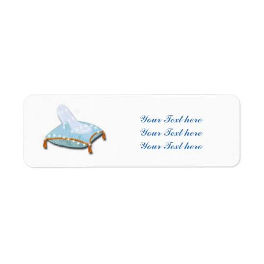 Storybook Princess Elegant Wedding Party Custom Return Address Label