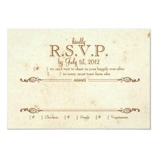 Storybook RSVP Card
