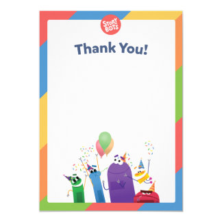 StoryBots Thank You Card