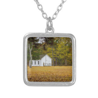 Storys Creek School Silver Plated Necklace