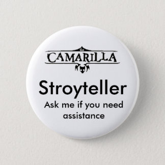 Storyteller 6 Cm Round Badge