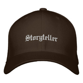 Storyteller Embroidered Hat