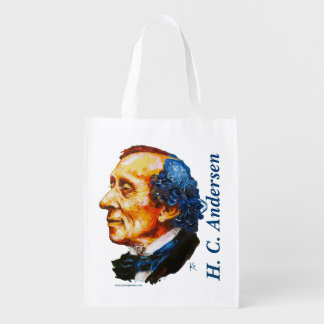 Storyteller - H. C. Andersen Reusable Grocery Bag